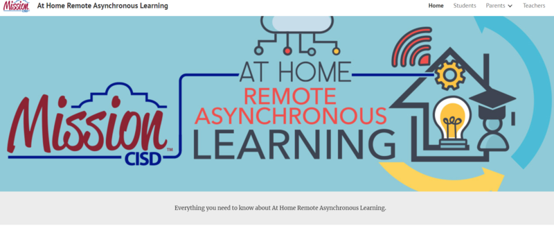 MCISD at Home Remote Asynchronous Learning Featured Photo