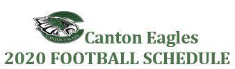 Canton Eagle Football Schedule