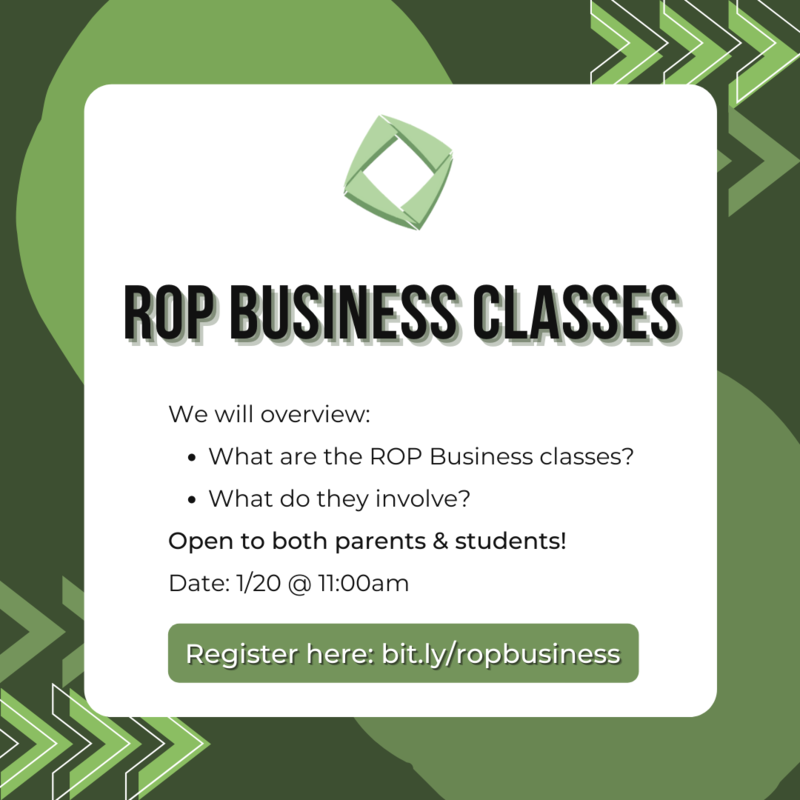 ROP Business Classes Info Session Featured Photo