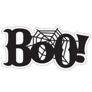 Boo with a cobweb