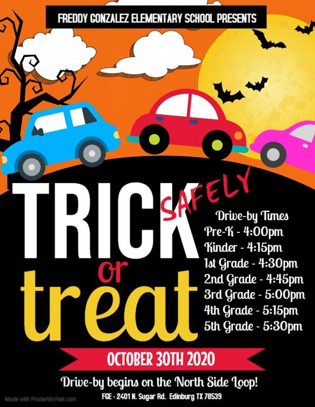 Trick or Treat SAFELY at FGE