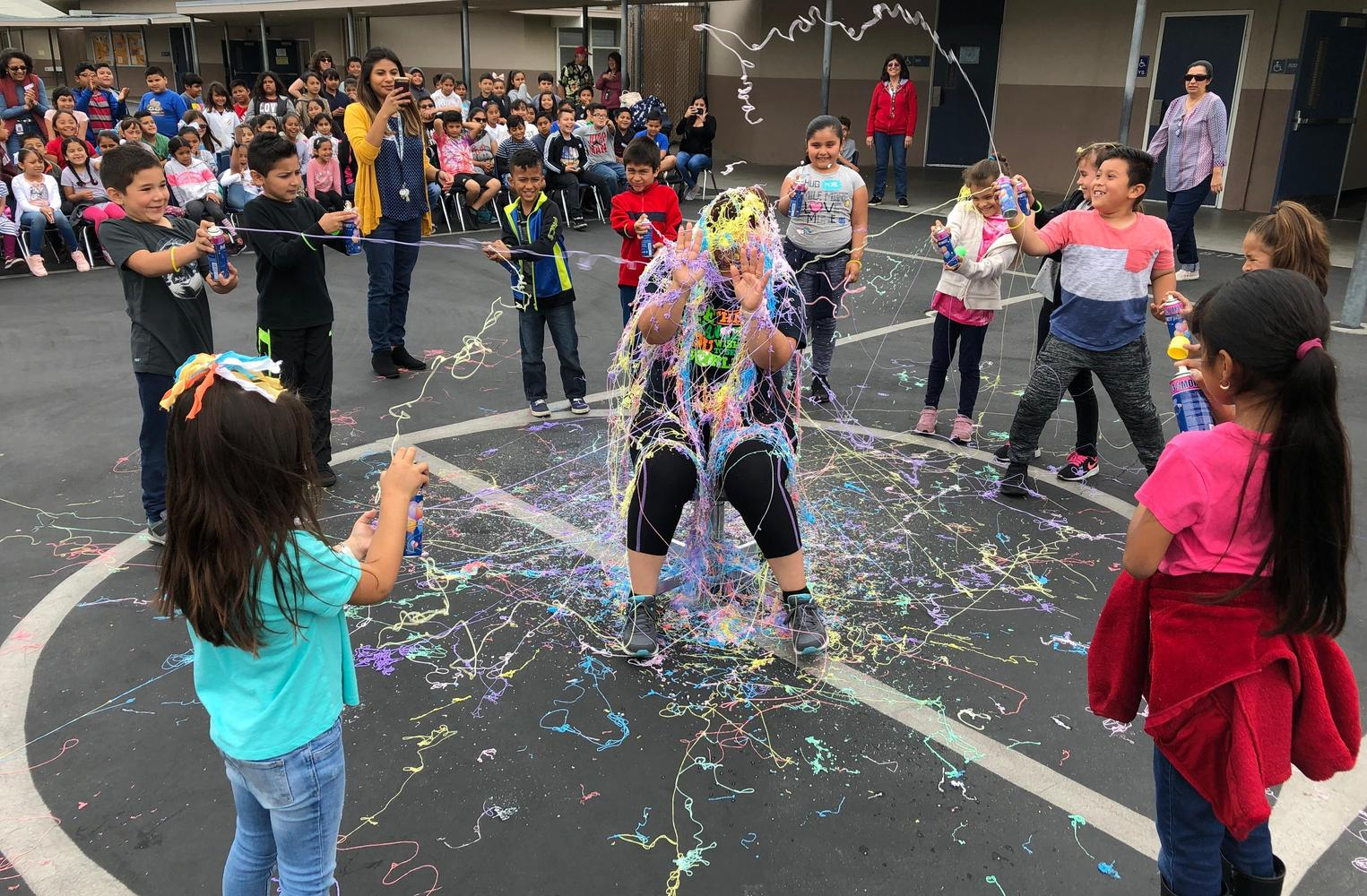 Silly String the Principal 2019