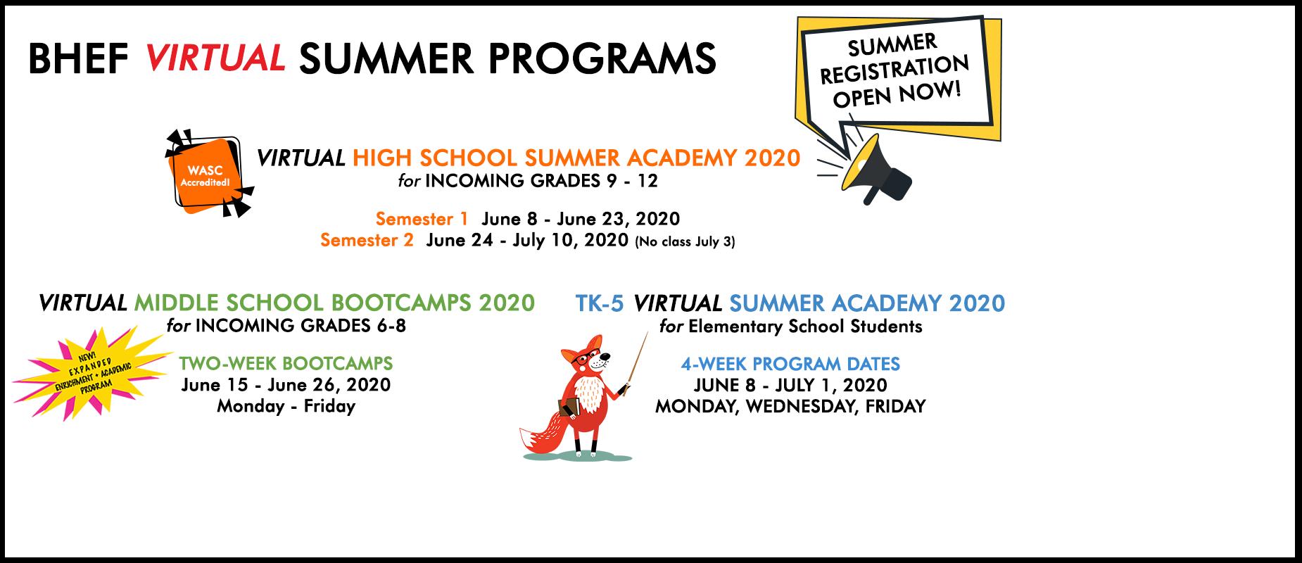 summer school 2.0