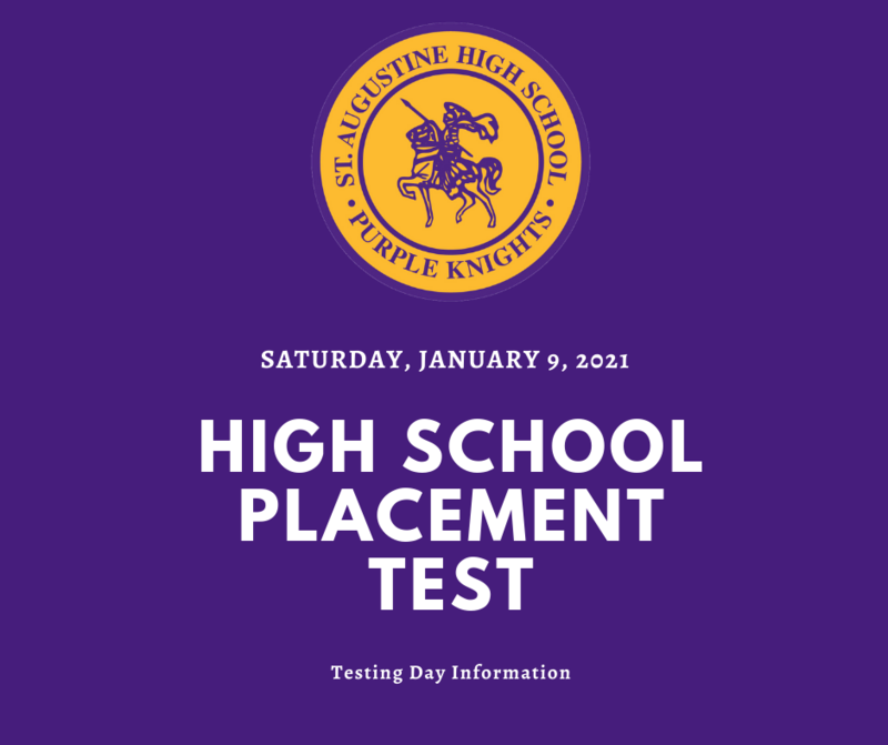 Placement Test: Saturday, January 9, 2021. Featured Photo