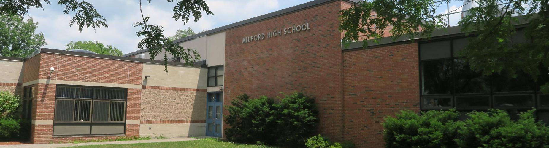 Milford High School Building by John Phelan