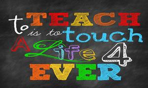colorful letters for teachers