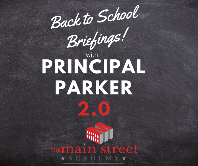 TMSA Back to School Briefings 2.0 with Principal Parker Featured Photo