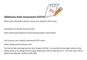 Upper Elementary - Oklahoma State Assessment