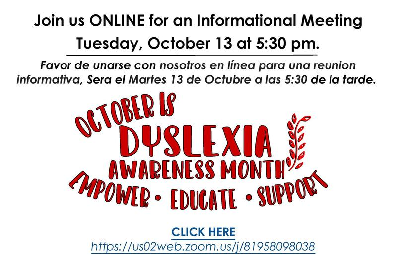 October is Dyslexia Awareness Month Thumbnail Image