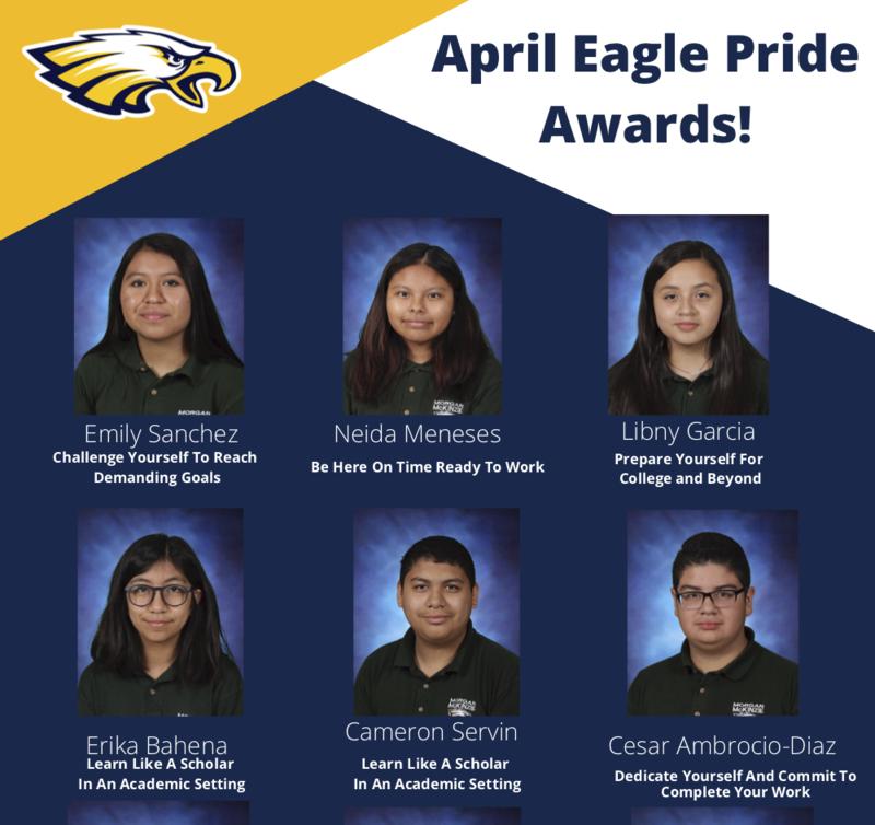 April Eagle Pride Awards Thumbnail Image