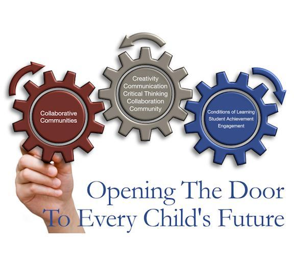 Opening The Door To Every Child's Future Poster