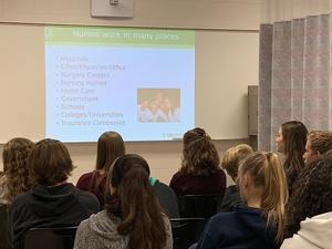 Otsego students learn about healthcare careers