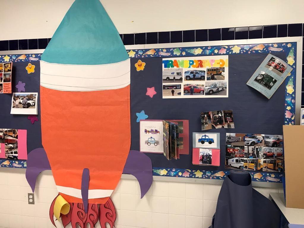 transportation research activity display