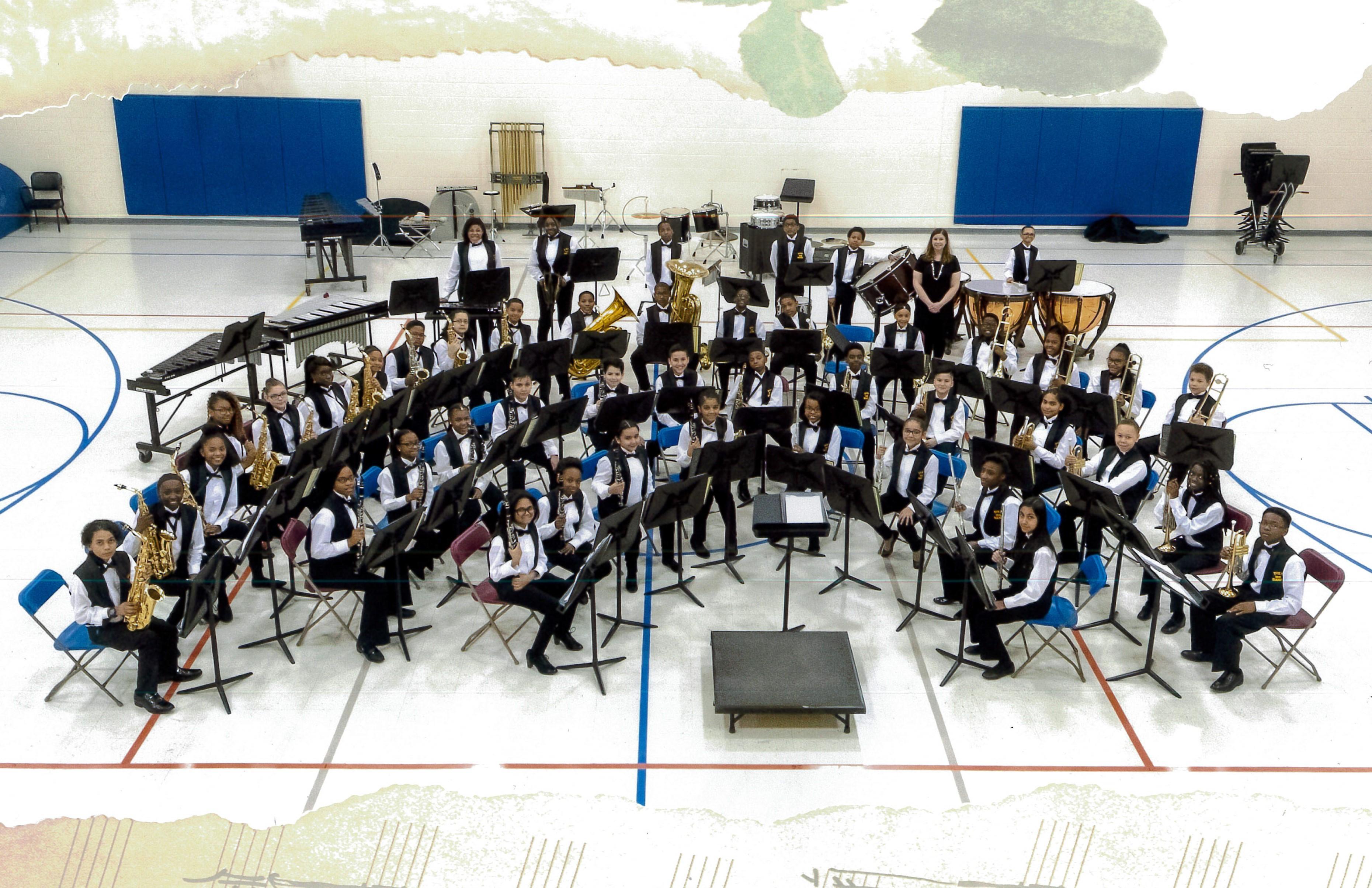 6th Grade Band Image