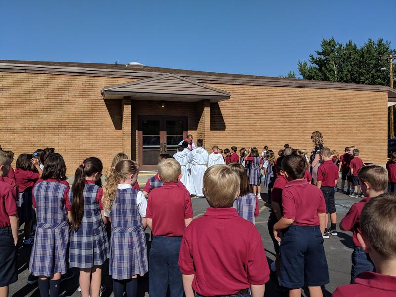 Blessing of the School Featured Photo