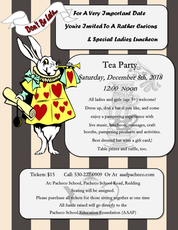 AAAF Tea Party