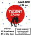 image of talent show