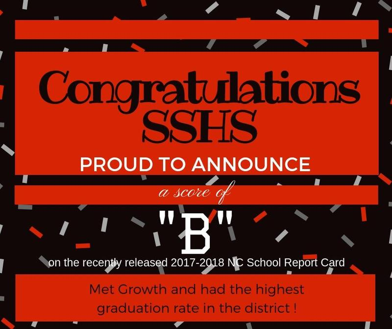 SSHS shows growth on NC Report Card Featured Photo