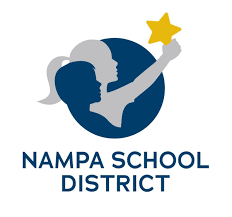 Nampa School District square logo