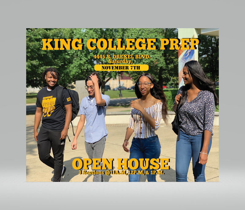 King College Prep Open House