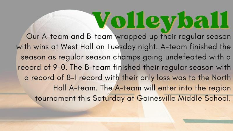 Congrats to our Volleyball Teams! Featured Photo