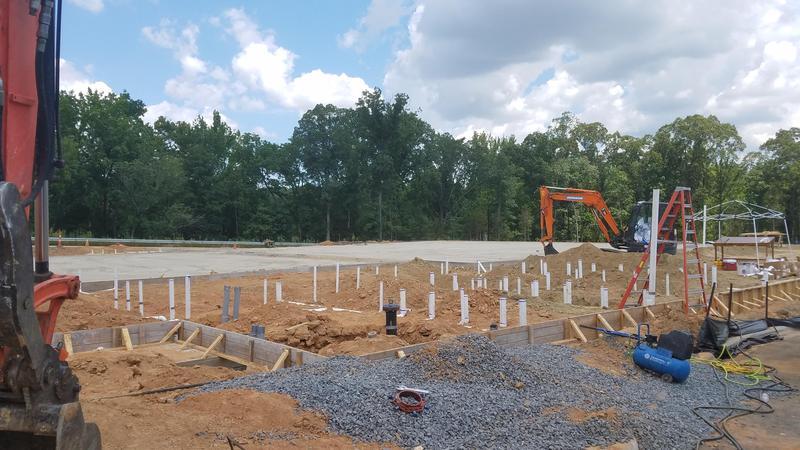 Fitness & Fine Art Center Construction begins! Featured Photo