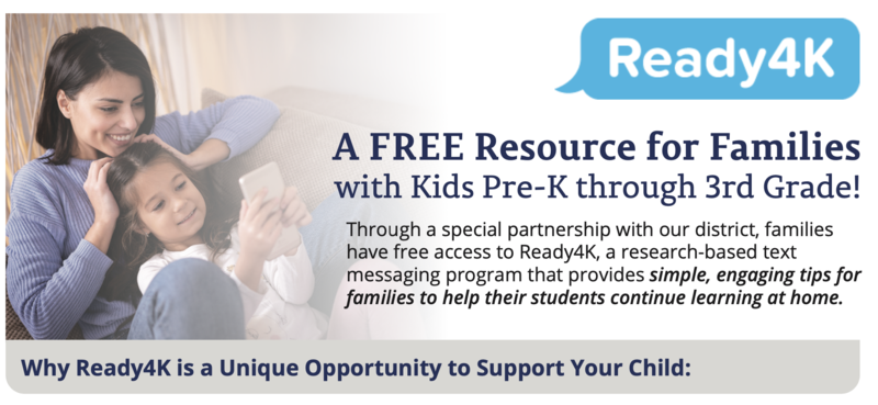 A FREE Resource for Families with Kids Pre-K through 3rd Grade! Featured Photo