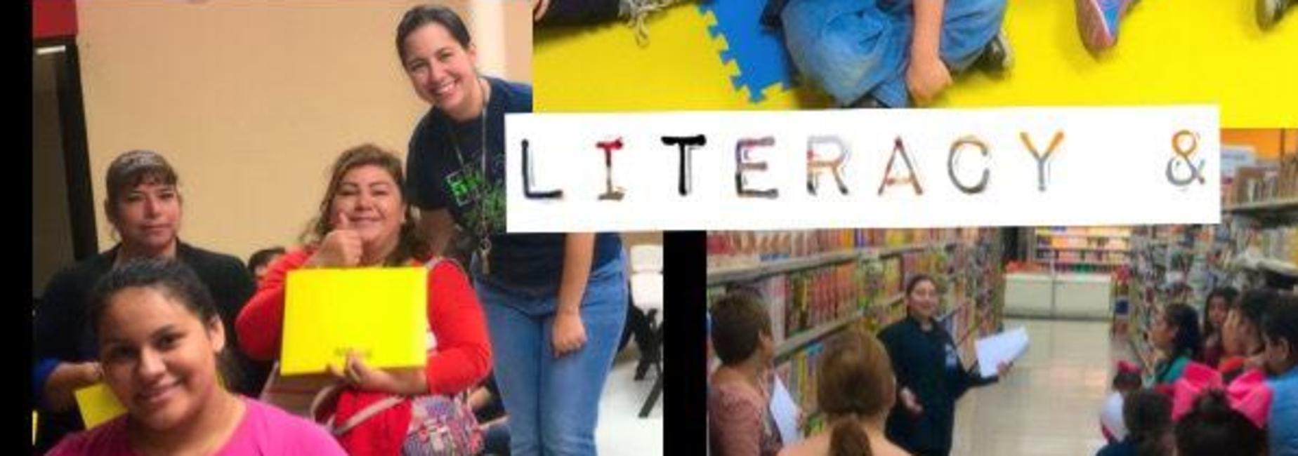 Parents participate in Literacy & Nutrition Program.