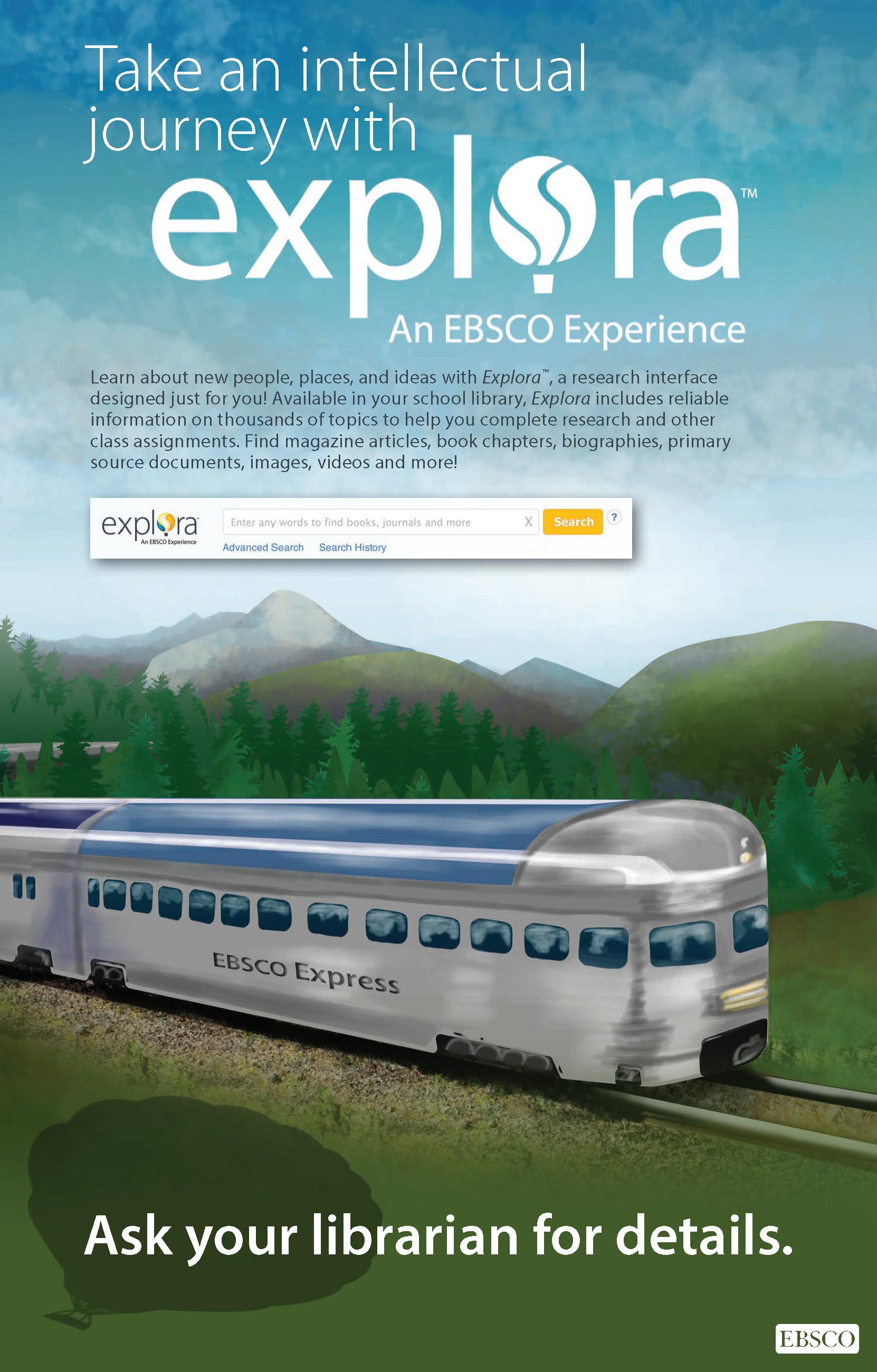 Explora - Train poster