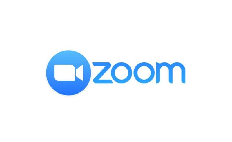 Zoom Logo , link to zoom meeting information