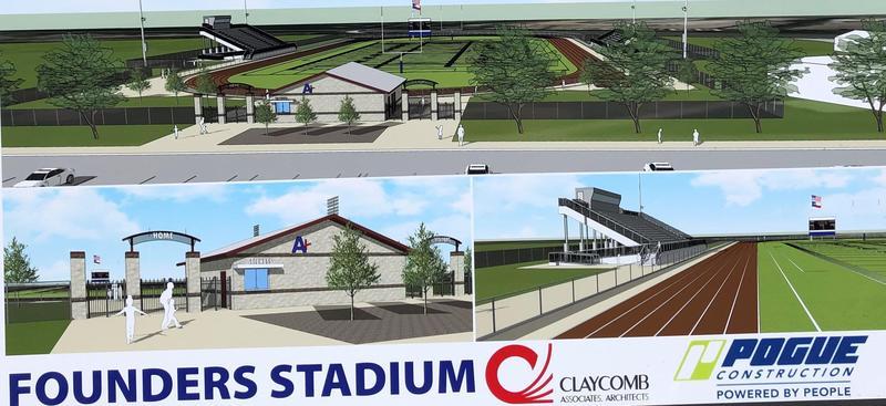 Founders Stadium set to open 2021 Thumbnail Image