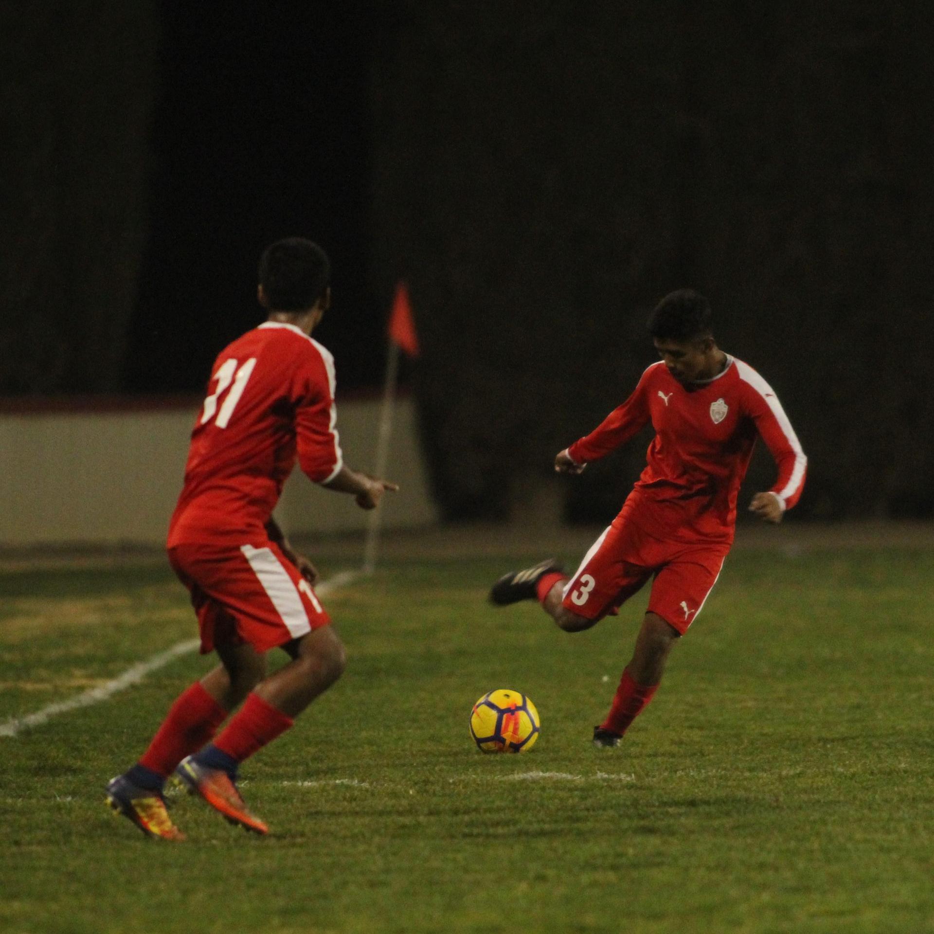 Alejandro Montes Kicking the Ball