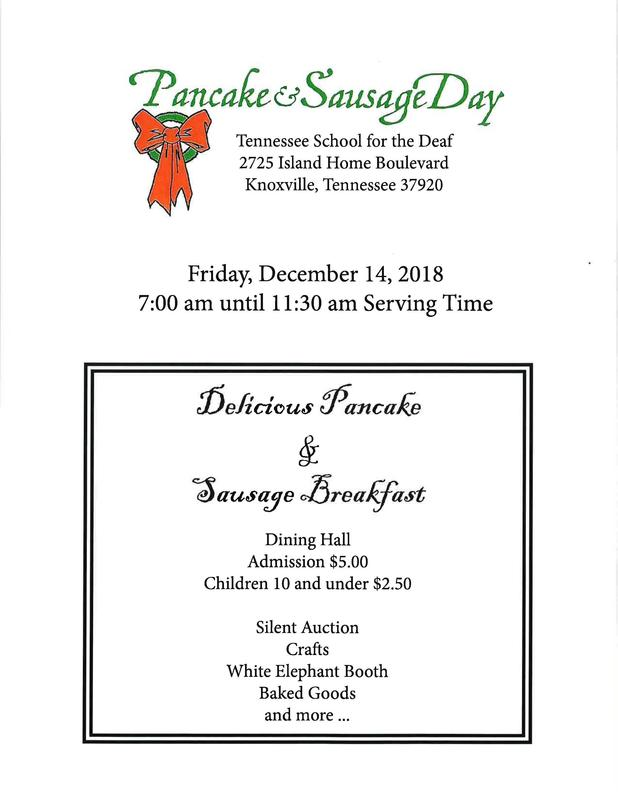 2018 TSD Knoxville Pancake & Sausage Day