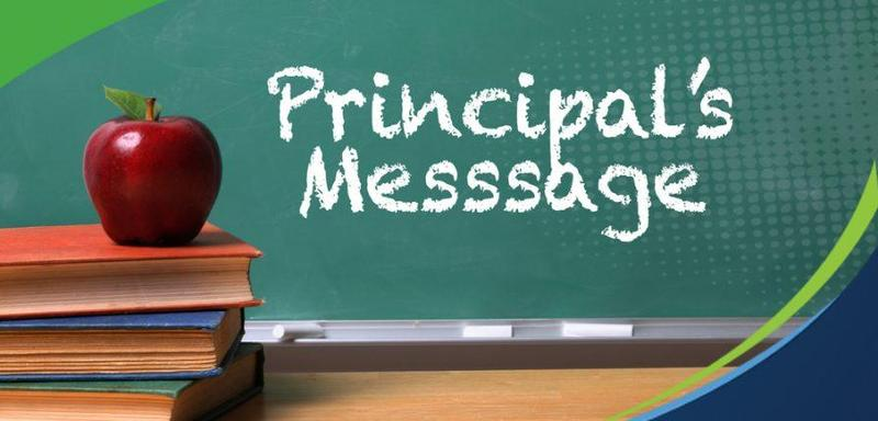 2nd Quarter Letter from the Principal