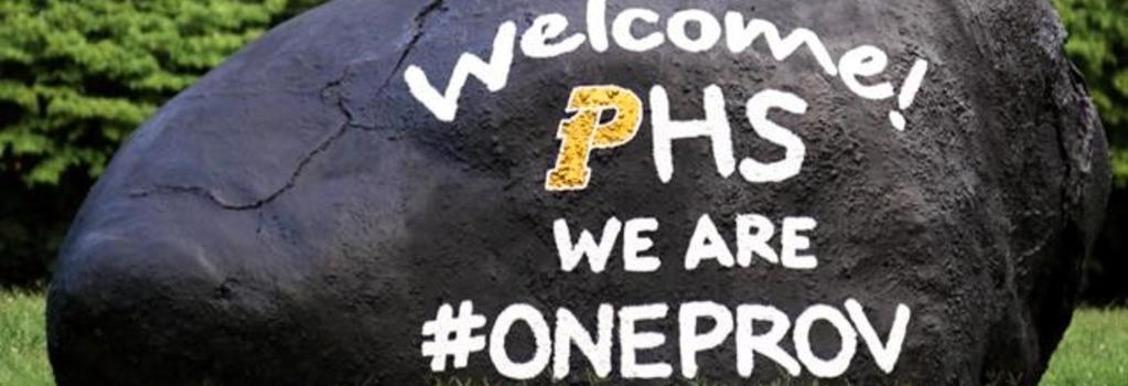 Welcome to PHS!  WE ARE #ONEPROV