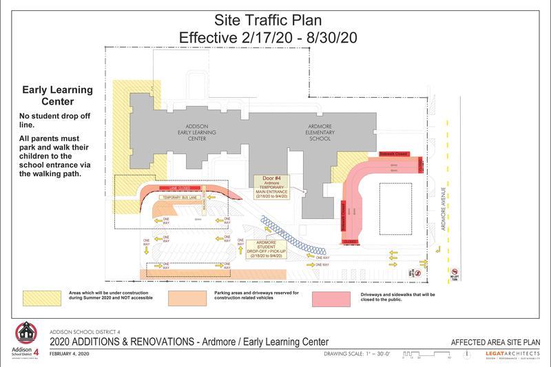 Ardmore/AELC traffic pattern