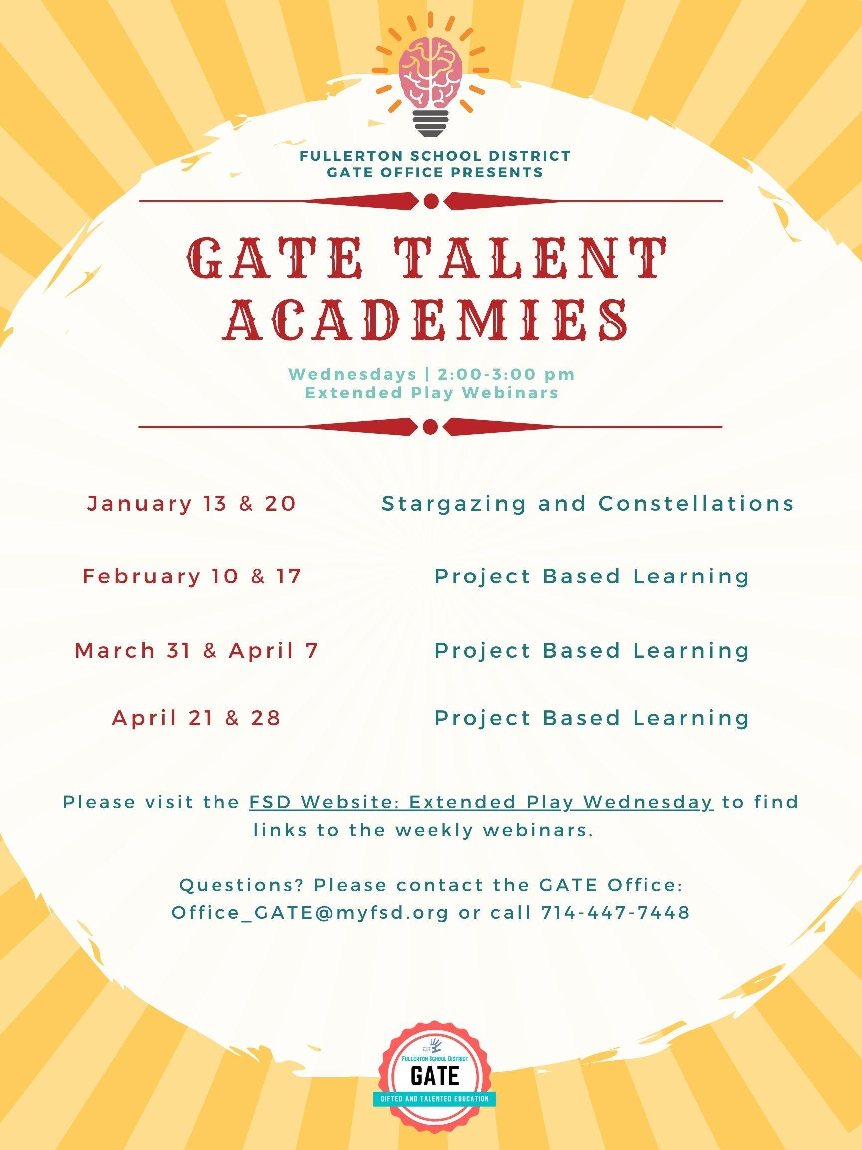 GATE Academy Flyer p2