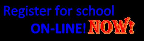 register for school