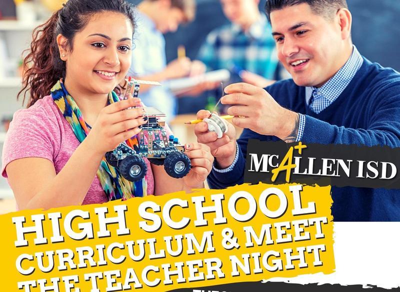 Meet the teachers high school