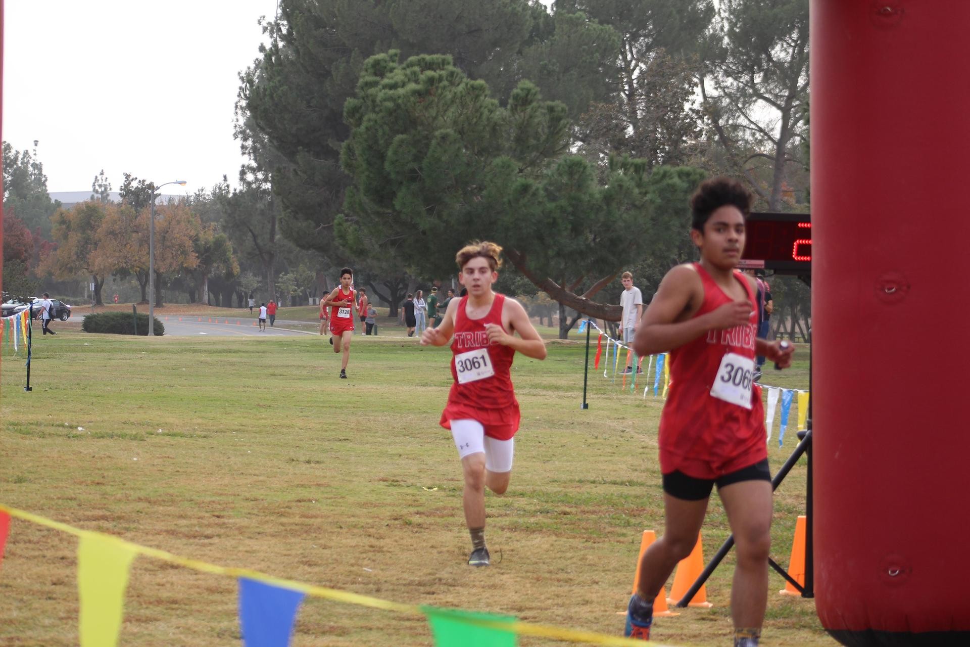 Angel Gonzalez and Connor Borba Finishing
