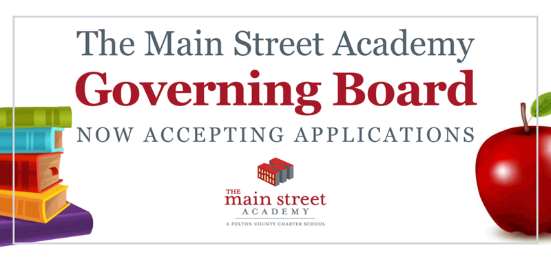 The Governing Board of The Main Street Academy (TMSA) seeks qualified applicants! Featured Photo