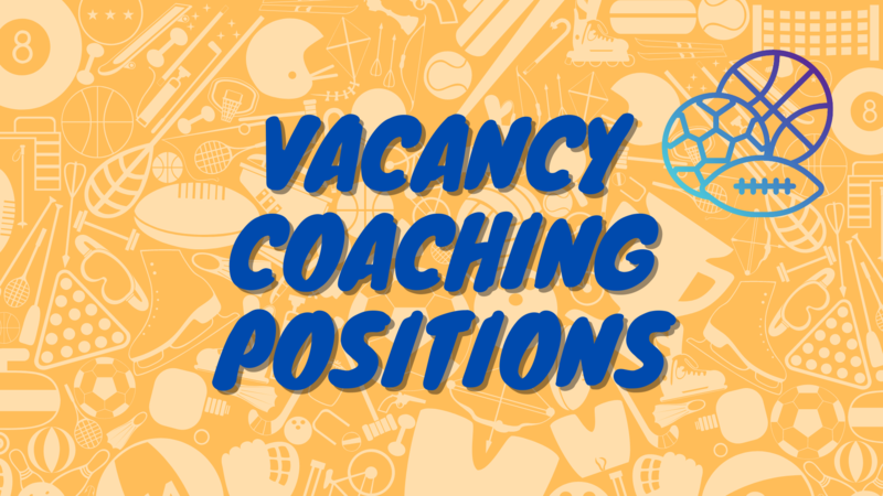 Vacancy Coaching Positions SY 20-21 Featured Photo