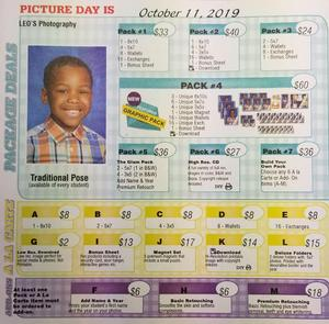 Student Picture Order Form