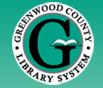 Greenwood County Library Logo