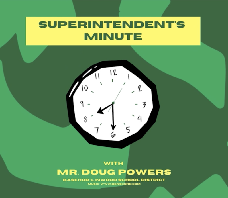 Superintendent's Minute Graphic