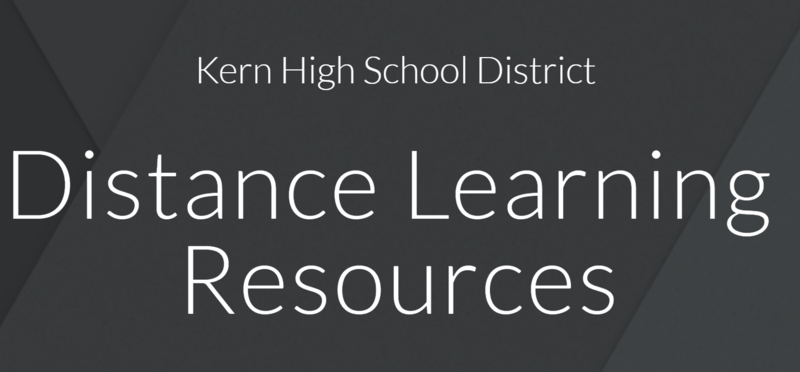Distance Learning Resources Thumbnail Image
