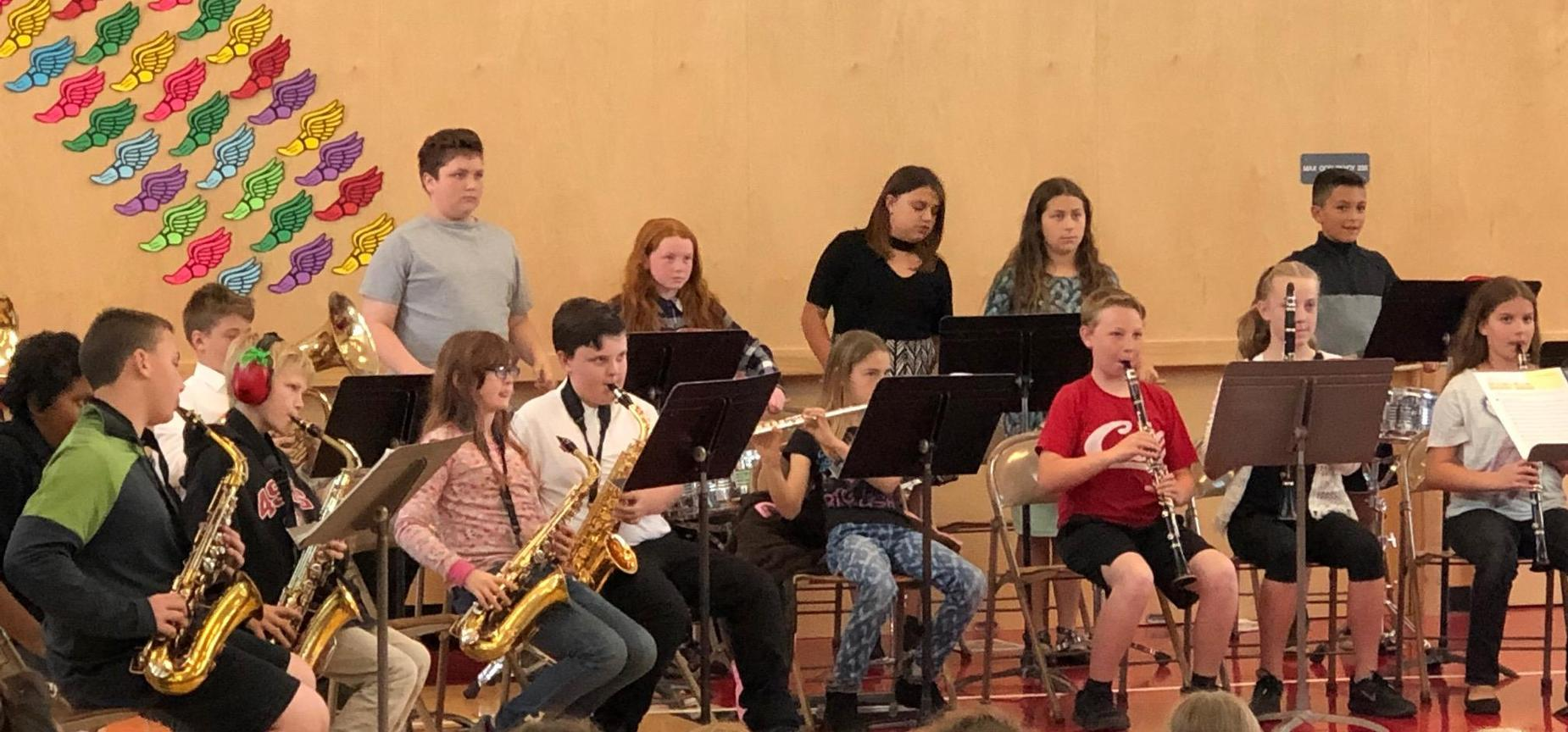 Morris Elementary Band