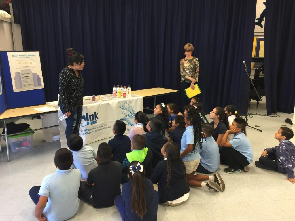 clean water demonstration