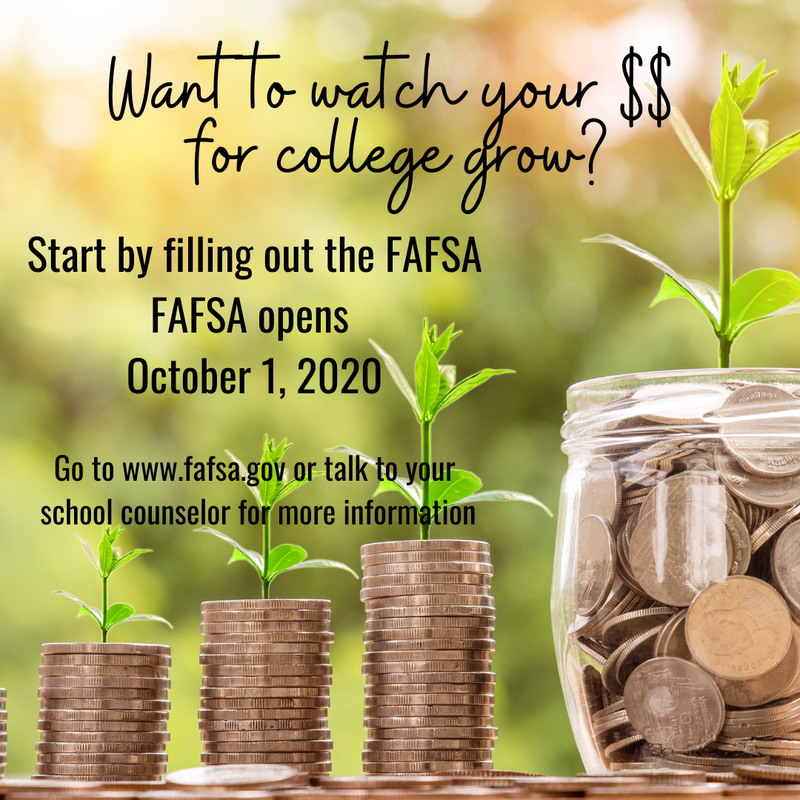Watch Your $ For College Grow! Thumbnail Image