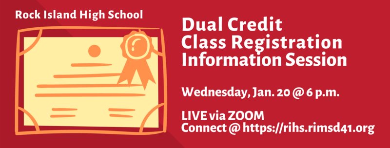 RIHS Dual Credit Course Registration Info Session Featured Photo